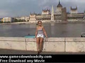 Nude in public - pussy flasher - no panties under short mini skirt feature