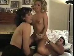 Blond babysitter fucked by a hubby and his wife