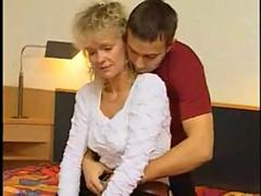 Very hairy german mature blonde casting tryout clip