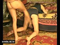 mistress roksana - cunt kicking and busting