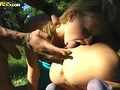 Three teen girls fuck hot boys in forest