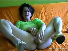 Pussy and Anal Orgasm Gemma from Germany