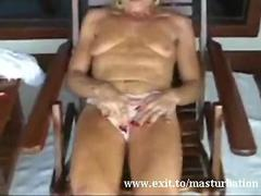 Masturbation and orgasm 55 years Granny Wanda