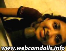 Webcam Indian Pussy Giving A Blowjob And Eating Cum