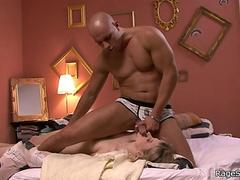 Cheating bitch is  to ride his hard cock