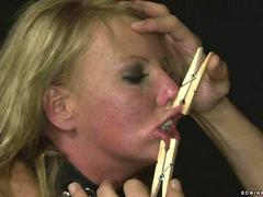 Slavegirl gets punished and fucked feature
