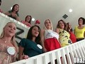 Real College Girls Pledging for Sorority