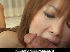 Rika sakurai  japanese beauty shows off her spread pussy video