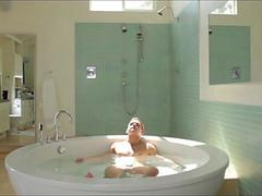 ManRoyale California Studs  Suds Thrusting In Holiday Bath Tub