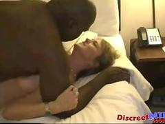 Mature wife get fucked by black dude