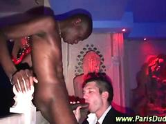 Hot gay amateur french interracial hunks