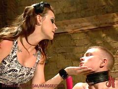 Getting Pegged by a Dominatrix