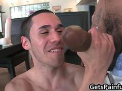 Hot Italian dude meets the biggest black Sausage ever