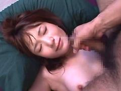 Facial cumshot compilation with Japanese beauties