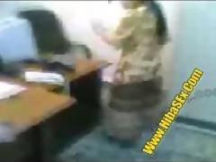 ARAB OFFICE SEX WITH THE MAID