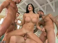 Hot Aletta Ocean Gang Bang