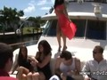 Amazing Girls Come To Rich Boys Party On A Yacht And Soon Start To Lose Clothes