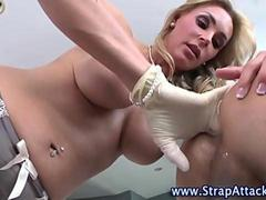 Femdom bitch ass fingering victim film