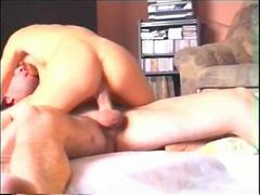Real amateur homemade sex between a wife and her husband