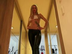 Sklaven Worship Wetlook Leggings