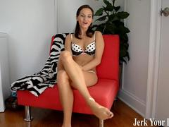 Ashley Sinclair commands you to stroke it JOI