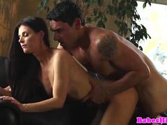 Pornstar babe India Summer has intense sex