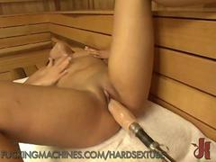Squirting Sauna Fuck