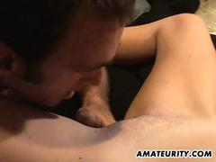 Amateur couple homemade hardcore action video