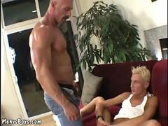 Extreme anal workout for a sexy toy boy