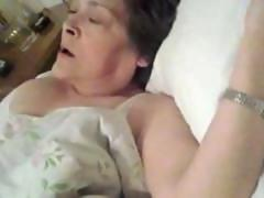 Granny loves to be sensually touched in her sweet spot