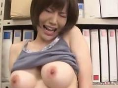 Busty Teacher Getting Her Tits Rubbed in her office