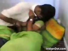 Frisky Amateur Indian Couple Doing It