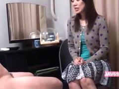 Adorable sexy japanese girl banging clip