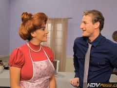 Hdvpass sexy redhead housewife raylene gives a loving blowjob feature
