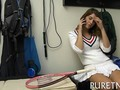 Tennis playing teen fucking after practice