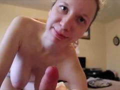Hanging tits suck fuck and facialized