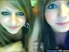 two very gorgeous looking babes on webcam looking stunning
