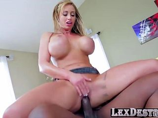 blonde with big tits eva notty gets her pussy destroyed by lexington