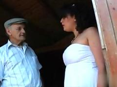 old man has a slut he can fuck