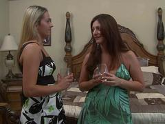 MILF Babes Alicia Silver And Elexis Monroe Enjoy Each Other