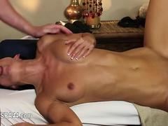 Very tricky massage room of smart masseur