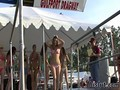 Bikini contest gets hot in no time