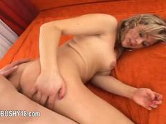 Student licking hairy mom