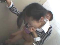 very sexy japanese schoolgirl is getting nailed in an empty classroom after her regular classes