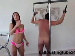 Ballbusting Surprise with Lady Bellatrix