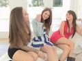 Two Teen beauties make out and eat pussy all afternoon
