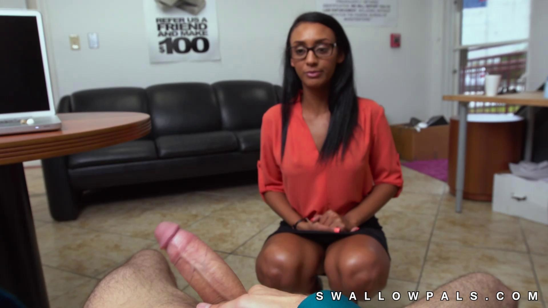 Arianna knight plays with massive dick 8