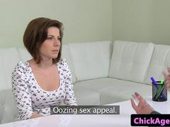 Innocent euro les fingering agent at audition