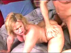Chubby mature takes a hard dicking