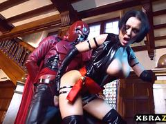 Xmen parody video with Magneto fucking big tits Psylocke